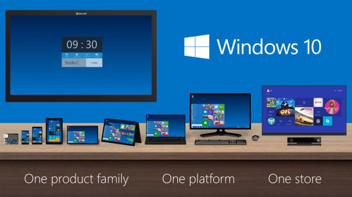 Windows 10 bude pre počítače, tablety aj mobily