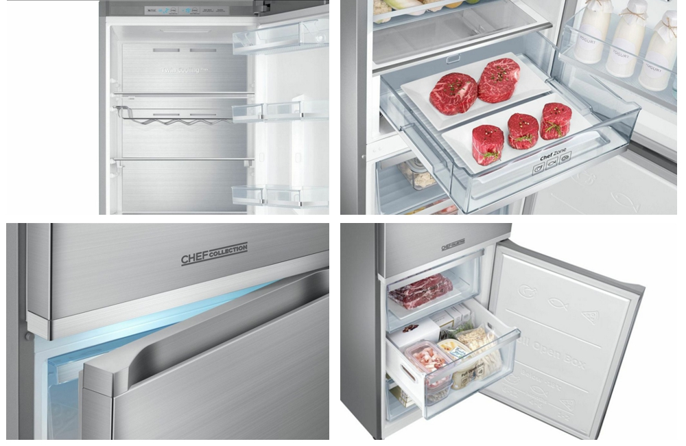 Chladničky Samsung RB5000, RB7000 a RB8000