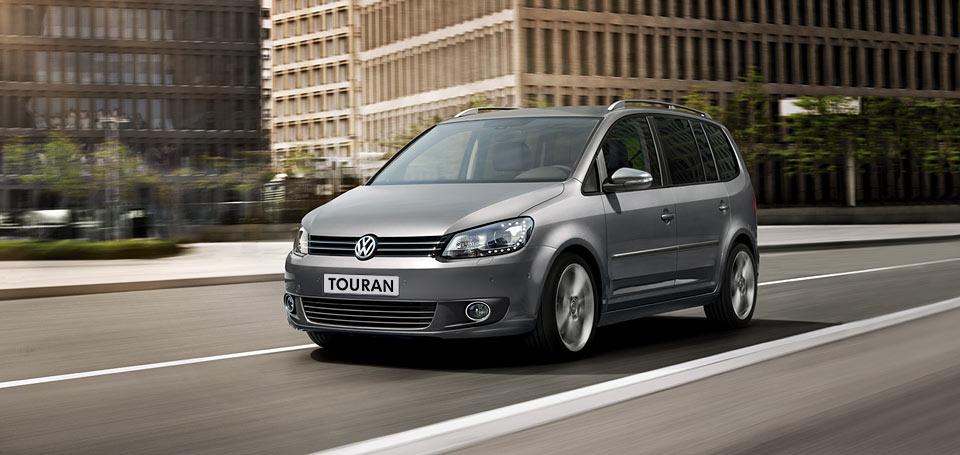 Volkswagen Touran s palivom CNG