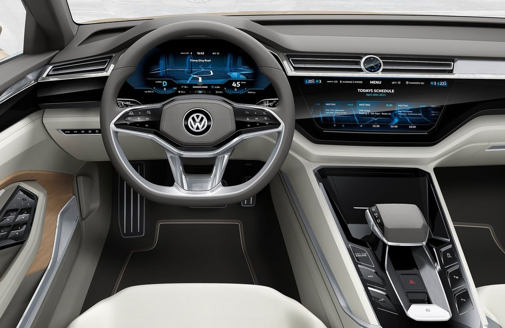 Volkswagen C Coupe GTE, koncept 2015 (foto: VW)