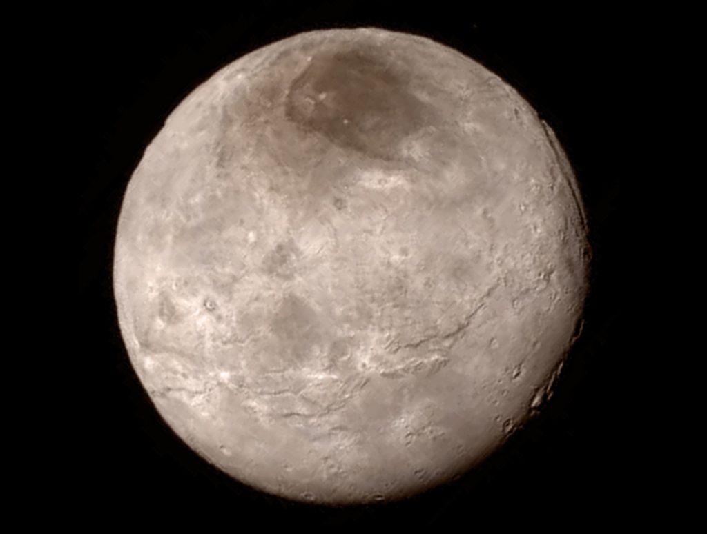 Plutov mesiac Cháron (foto: NASA)