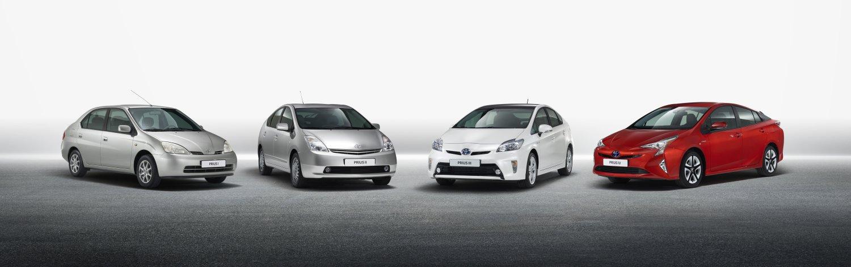 Toyota Prius a jej evolúcia