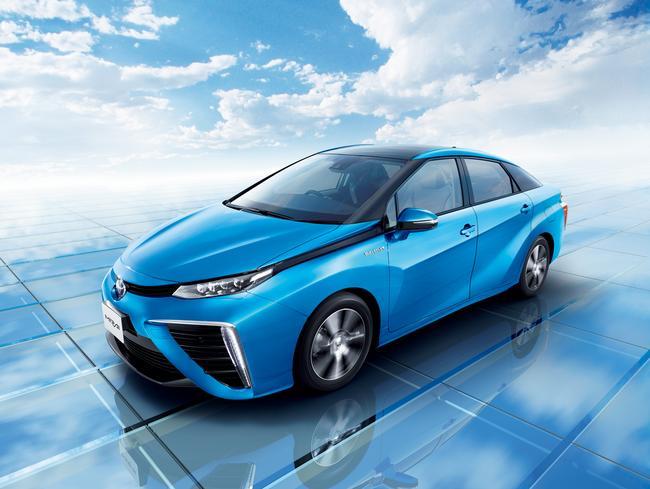 Toyota Mirai na vodík
