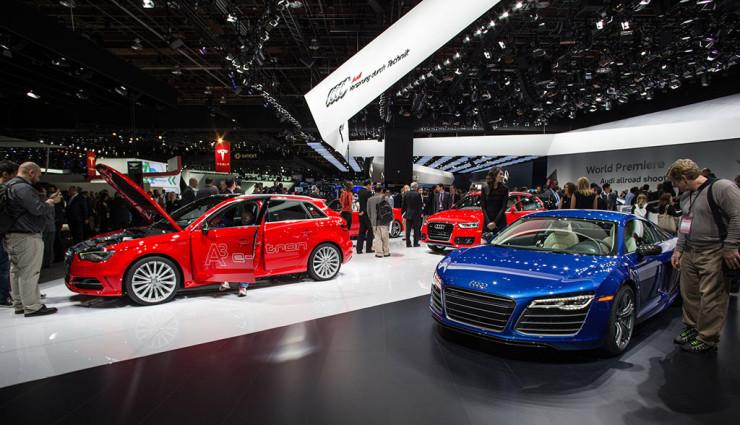 Audi v najbližšom období ponúkne okrem A3 e-tron aj Q7 plug-in hybrid a plne elektrické R8.