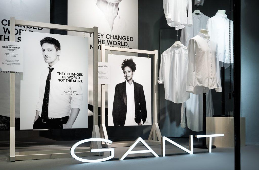 Rebranding značky GANT od Essen International (Švédsko, 2015)