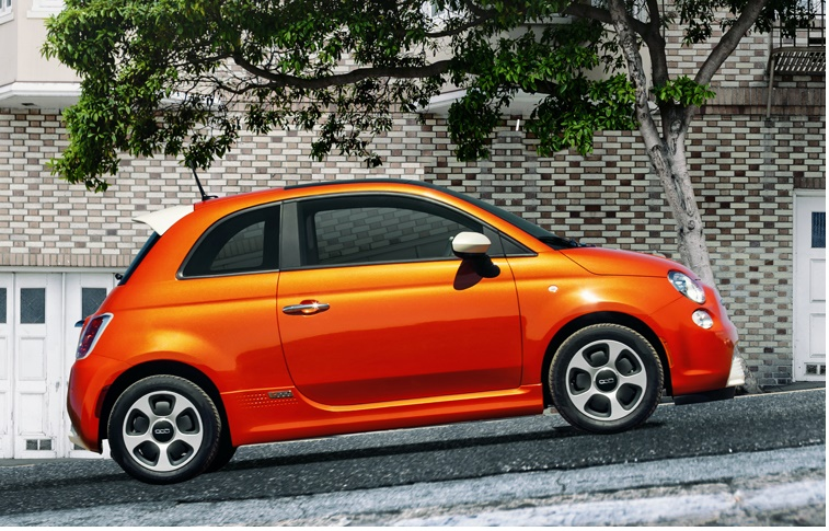 top10 elektromobilov ecomoto.sk Fiat 500e