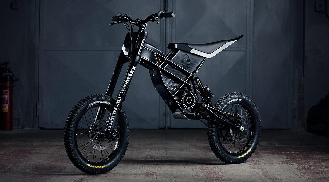 Kuberg Freerider, elektrický motocykel