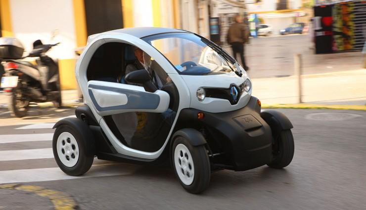 Renault Twizy, elektromobil pre jedného pasažiera
