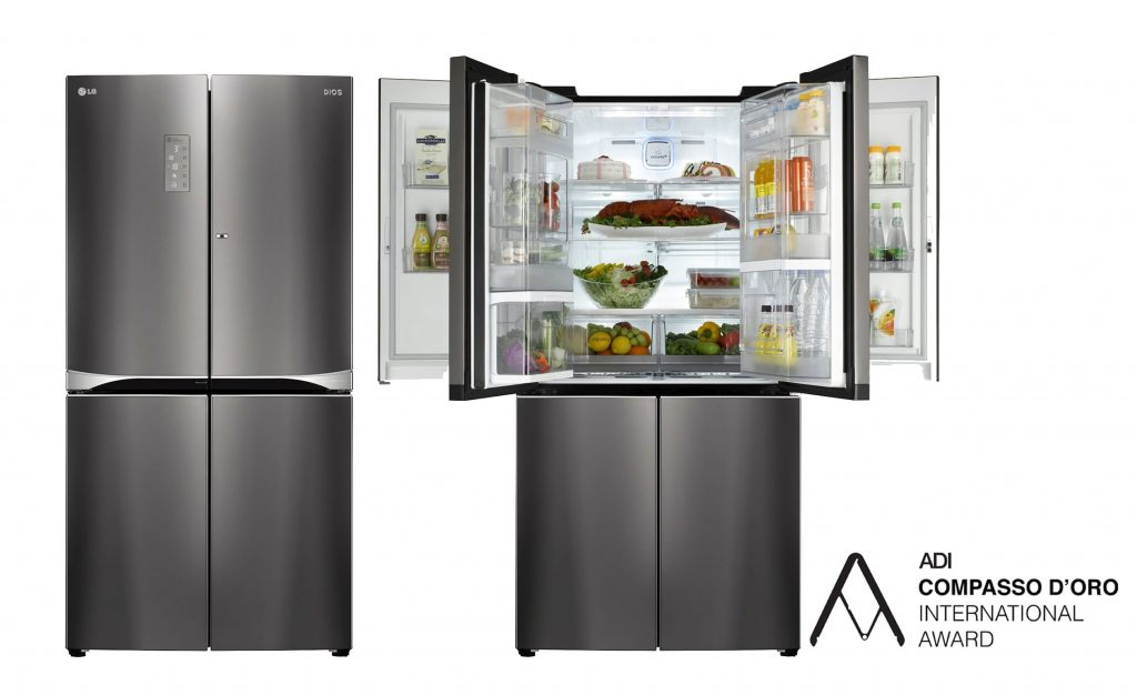 Duálna chladnička LG Dual Door-in-door