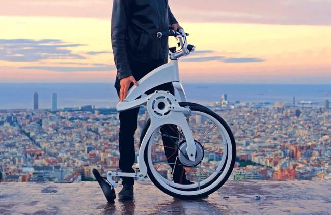 Gi FlyBike - elektricky skladaci bicykel (2)