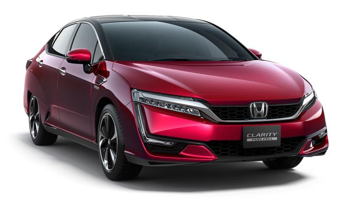 Honda Clarity Fuel Cell - auto na vodík | Foto: Honda