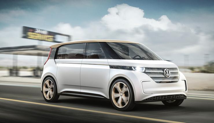 Elektrický Volkswagen BUDD-e z CES 2016