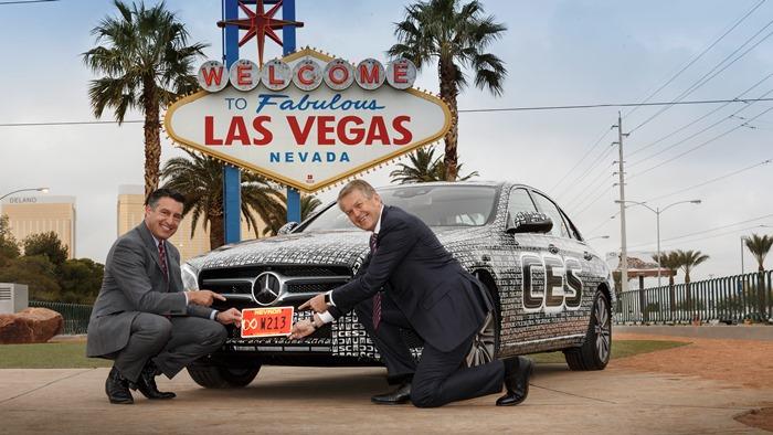 V americkej Nevade už jazdí sériová Trieda E autonómne | Foto: Daimler