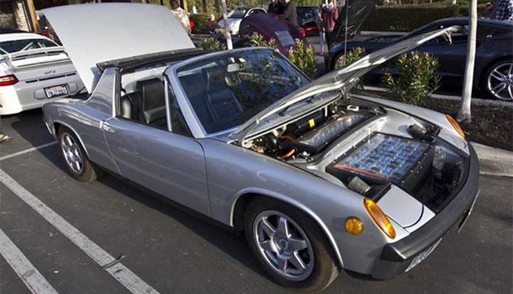 Elektrické Porsche 914