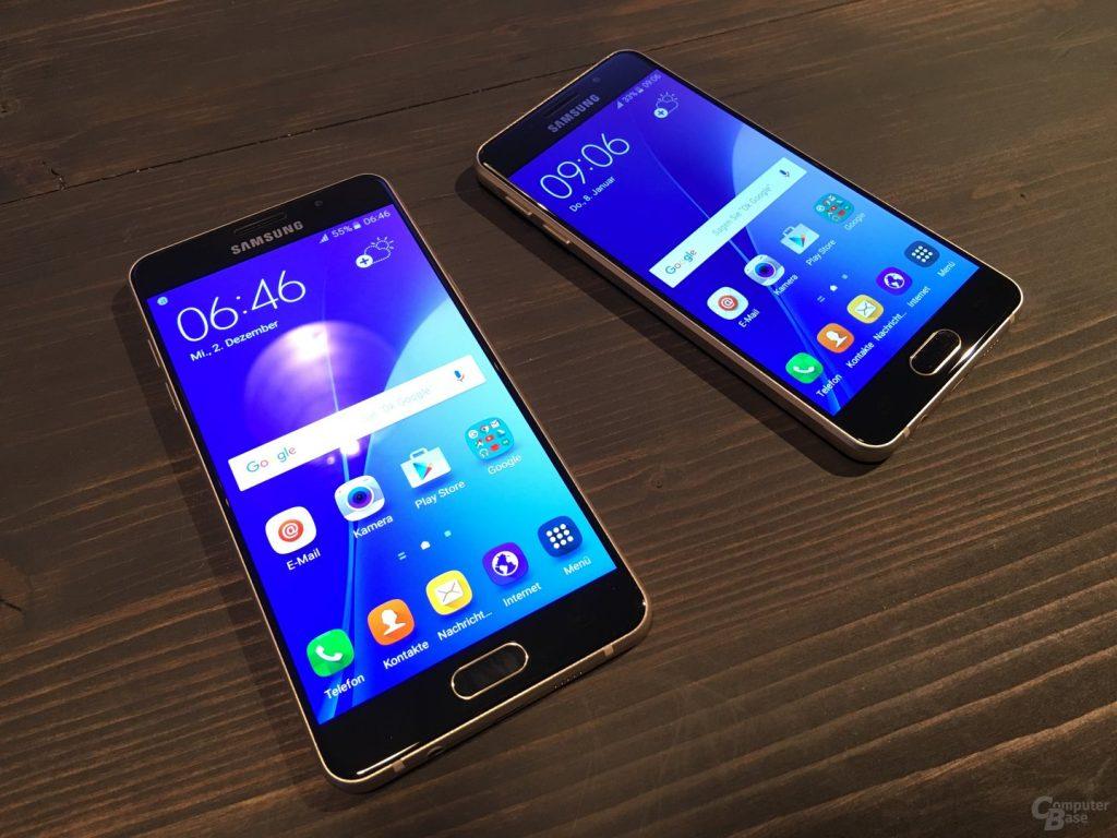 Samsung Galaxy A3 vs Samsung Galaxy A5