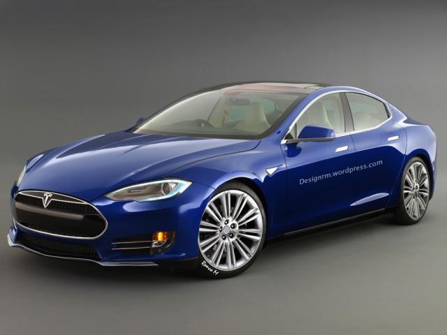 Tesla Model 3, ako si ho predstavujú fanúšikovia na internete