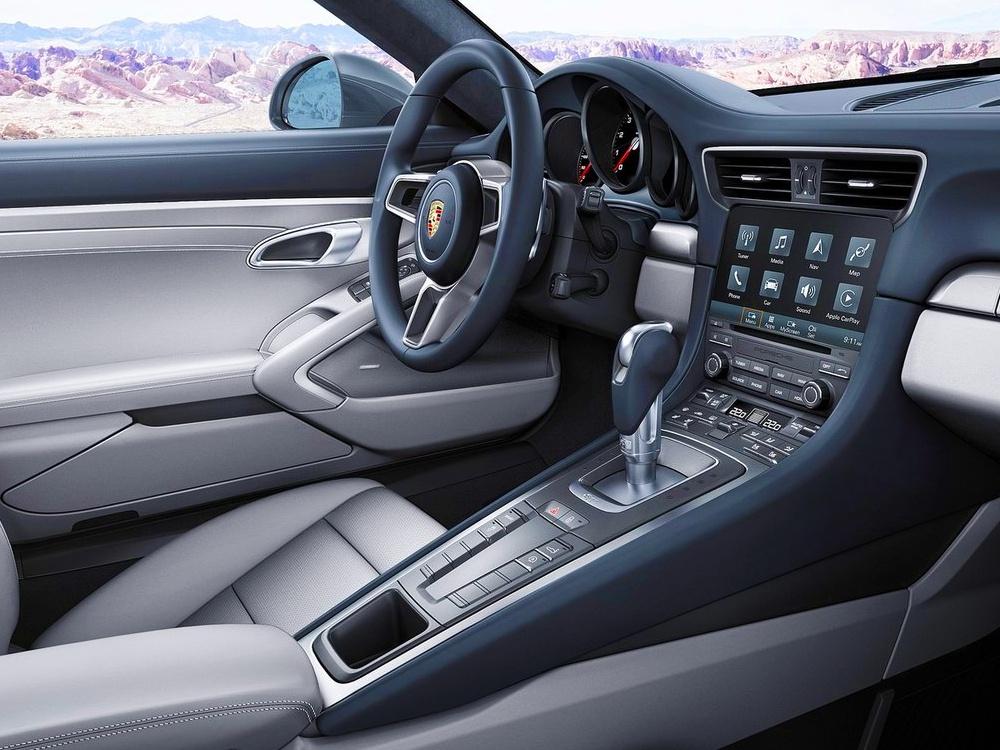 Interiér Porsche 911. Ilustračná fotografia | Zdroj: Porsche