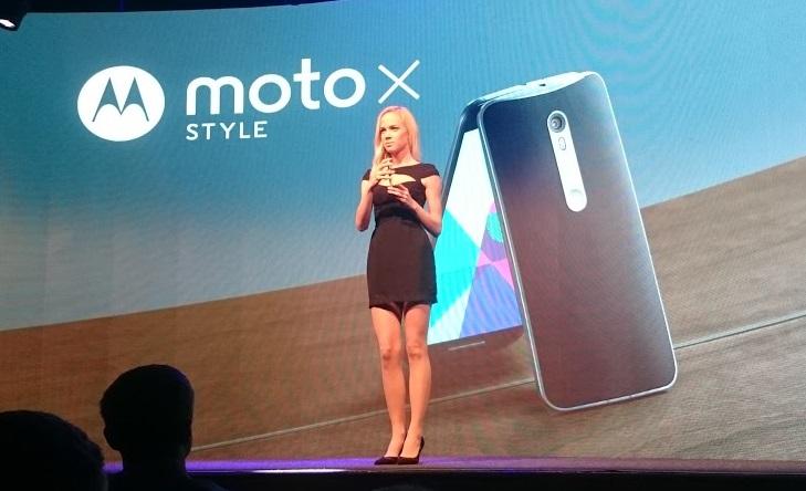 Lenovo Moto X Style