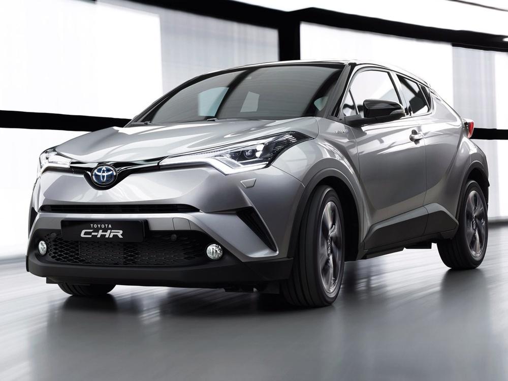 Toyota H-CR (2017) hybrid