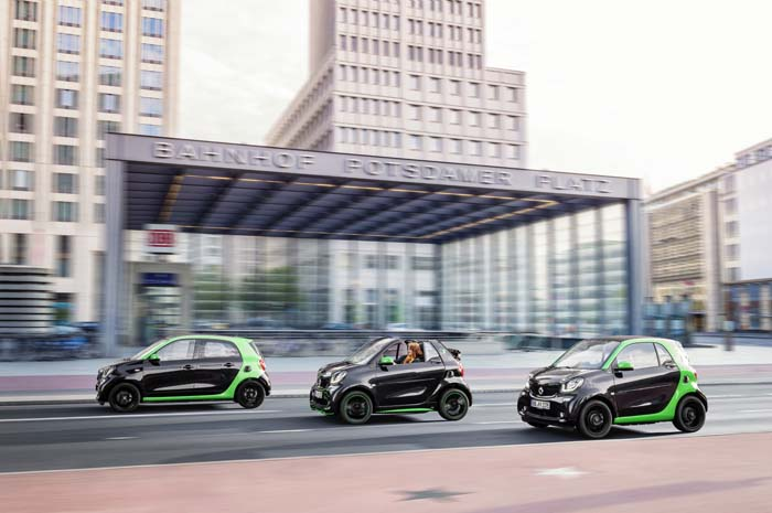 Jediný elektromobil-kabriolet je práve od Smartu