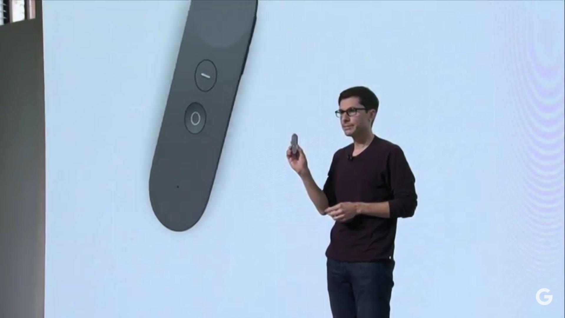 Gyroskopický ovládač pre interakciu vo virtuálnej realite. Virtuálna realita Daydream od Google