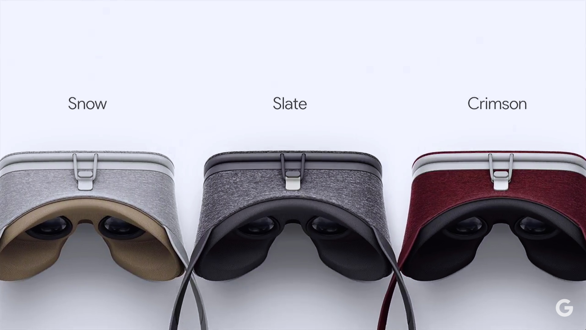 Virtuálna realita Daydream od Google. Headset je z textílie, je preto ľahký a mäkký