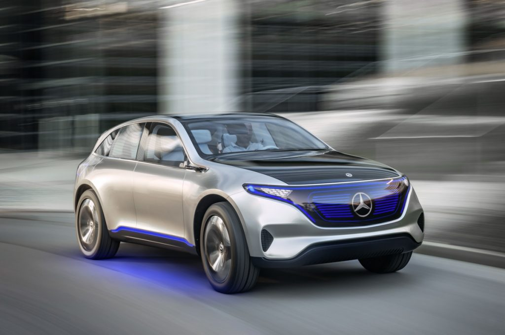 Štúdia Mercedes-Benz Generation EQ (foto: Daimler)