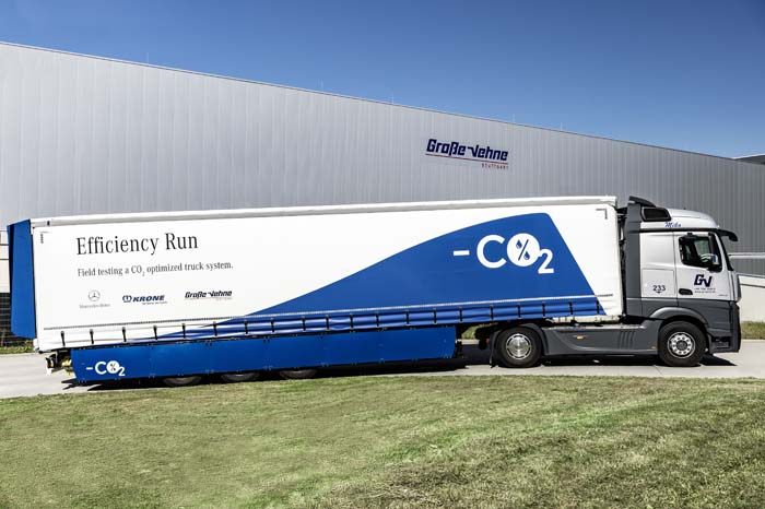 Mercedes-Benz Actros s návesom Krone Profi Liner Efficiency (foto: Mercedes-Benz Truck)