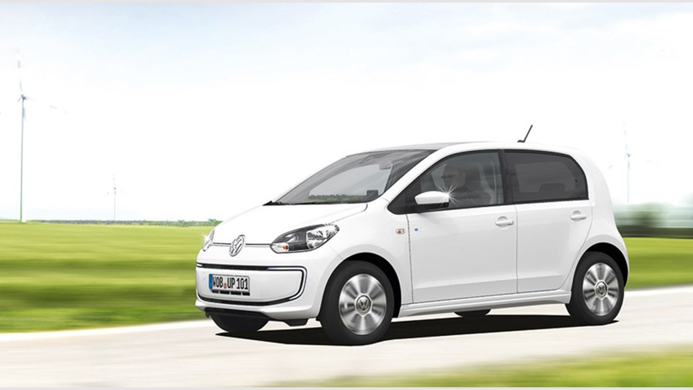 Volkswagen e-UP! v ponuke autopožičovne EDENCARS (foto: VW)