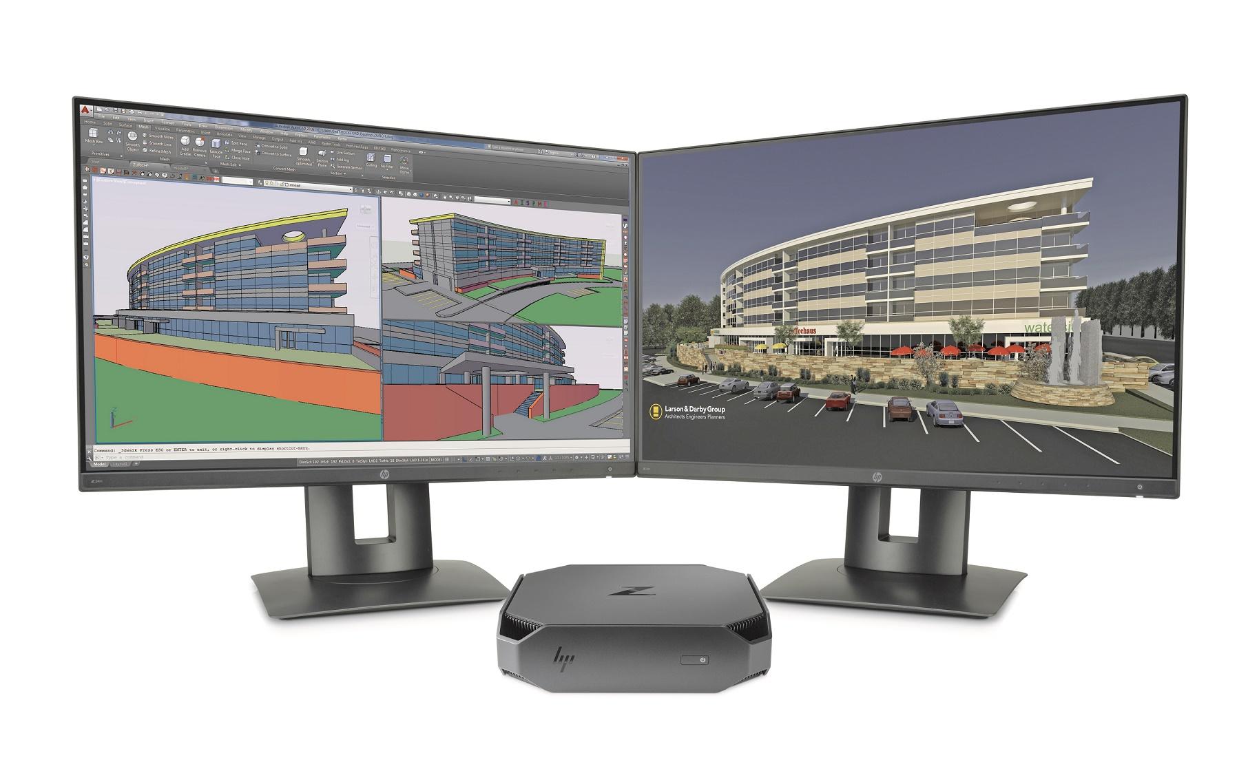 HP Z2 Mini stavia na úspechu HP Z240 SFF, je minimálne dvakrát výkonnejšia ako bežné komerčné mini PC