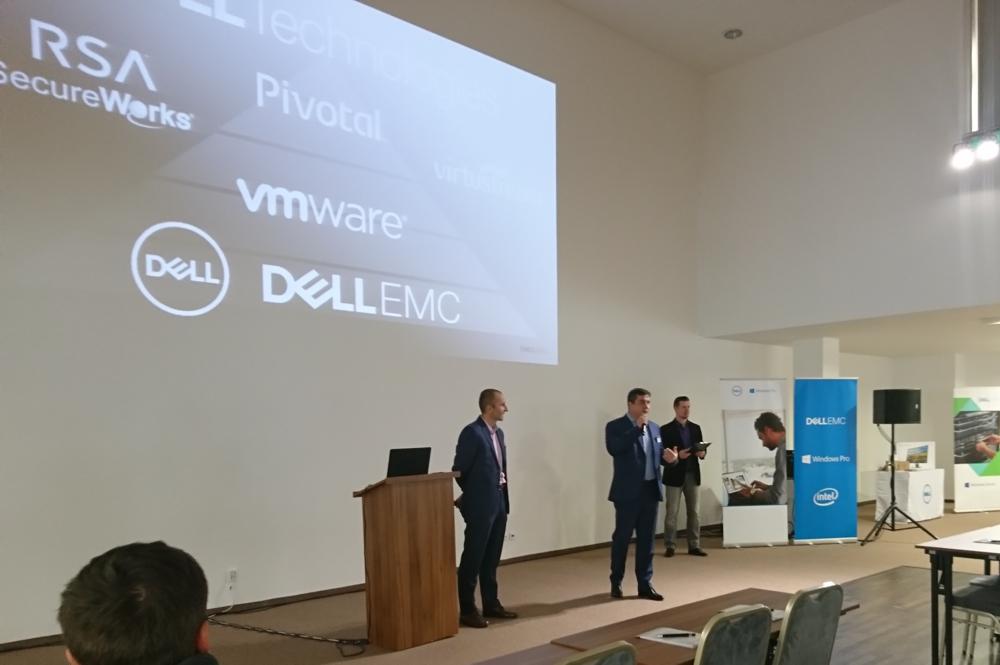 Dell EMC Technology Day 2016, tlačová konferencia hotel Saffron Bratislava 10. 11. 2016