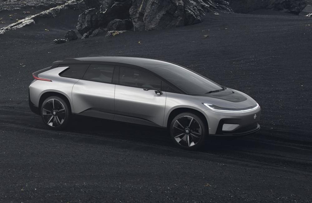 Faraday Future FF 91 (koncept 2017)