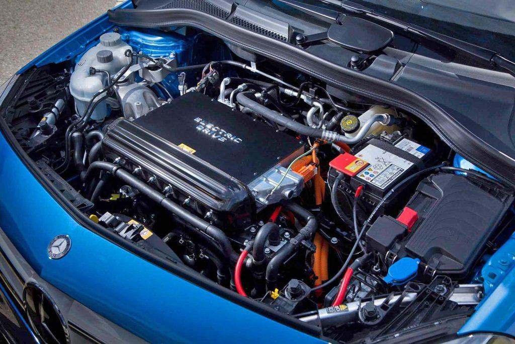 Elektrický motor, Mercedes-Benz B250e (2016)