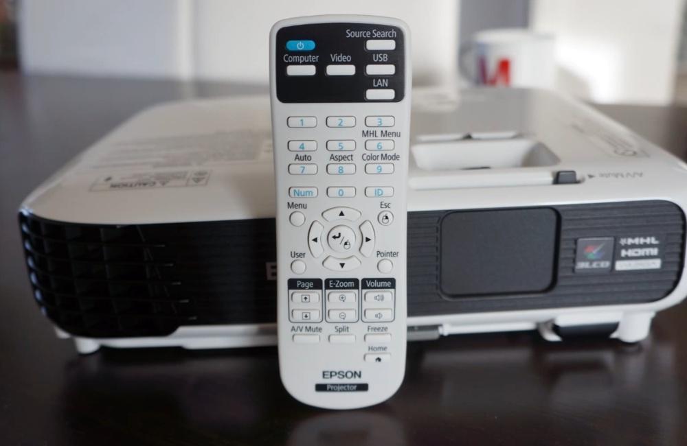Diaľkový ovládač pre Epson EB-S04