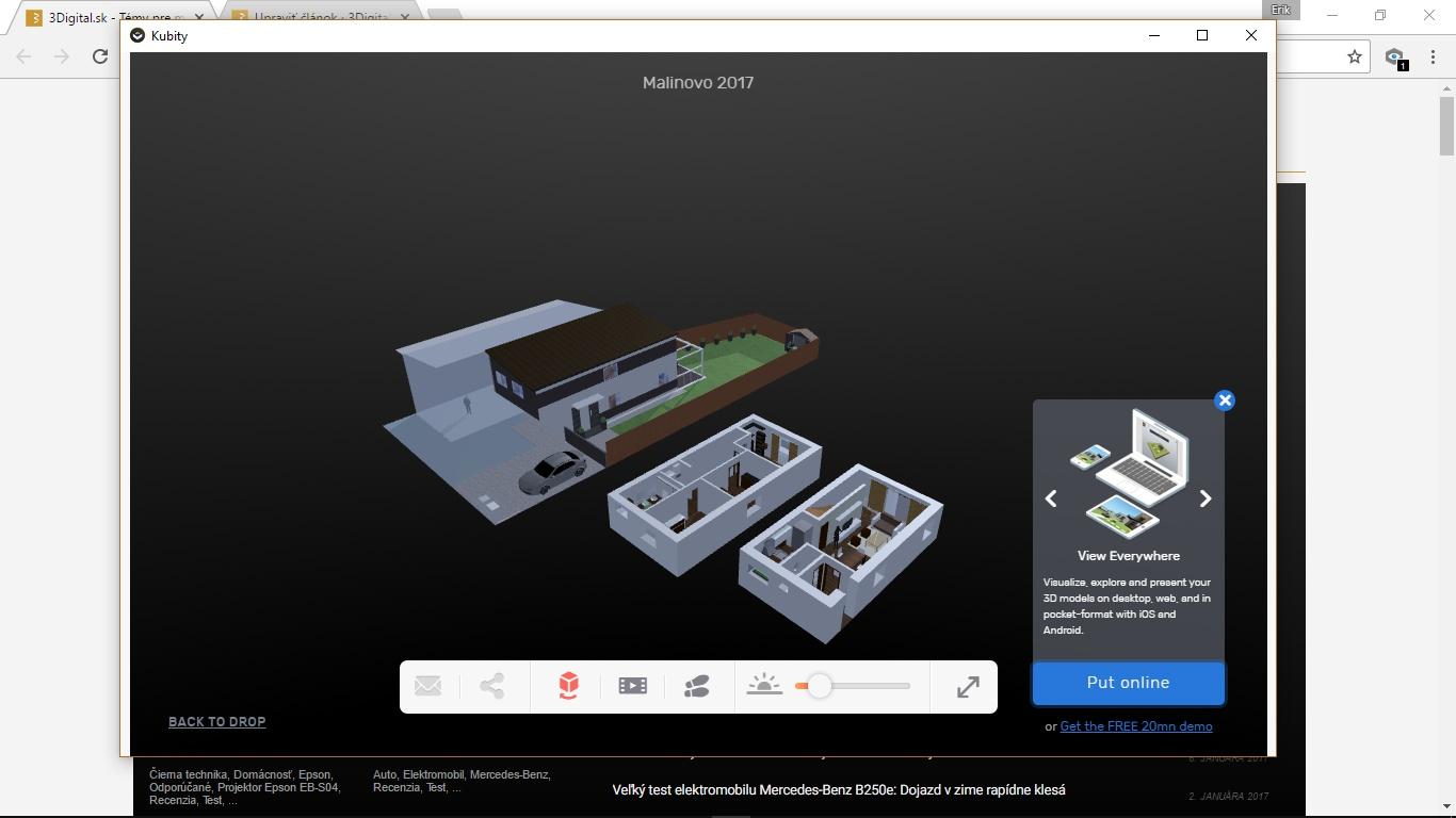 8eecca445 Aplikácia KUBITY umožňuje prevod 3D objektov a prostredí do virtuálnej  reality.