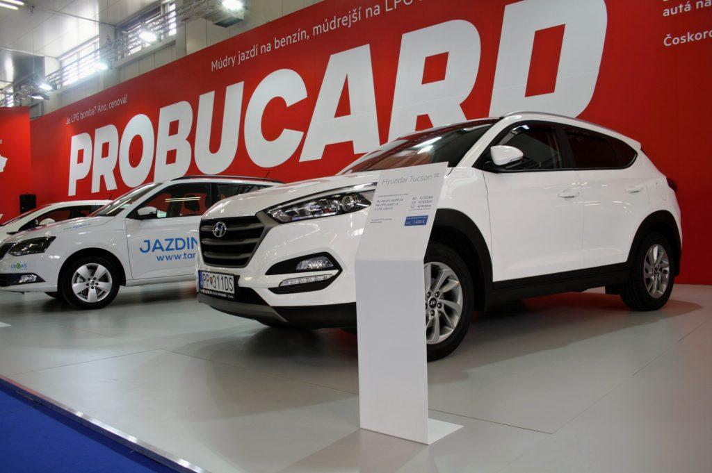 Expozícia Probucard na autosalóne v Bratislave 2017