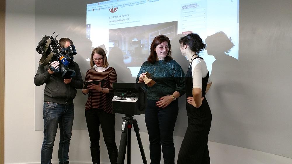 Tlačová konferencia v realitnej kancelárii Riešime bývanie - Martin Čapo (foto: Erik Stríž)