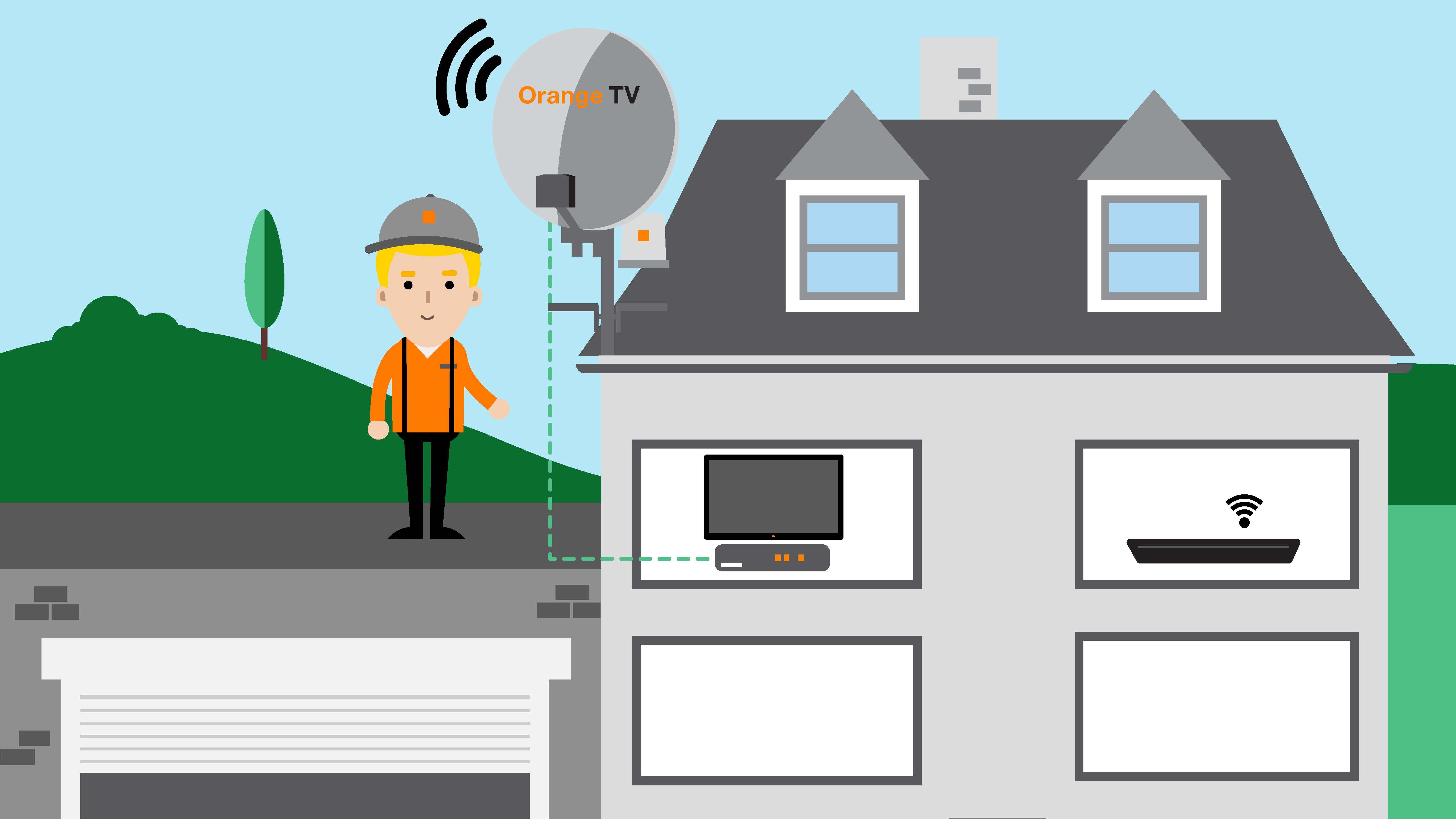 50905ff74 Orange spúšťa vlastnú satelitnú službu, Orange TV si už pozriete aj cez  satelit a internet