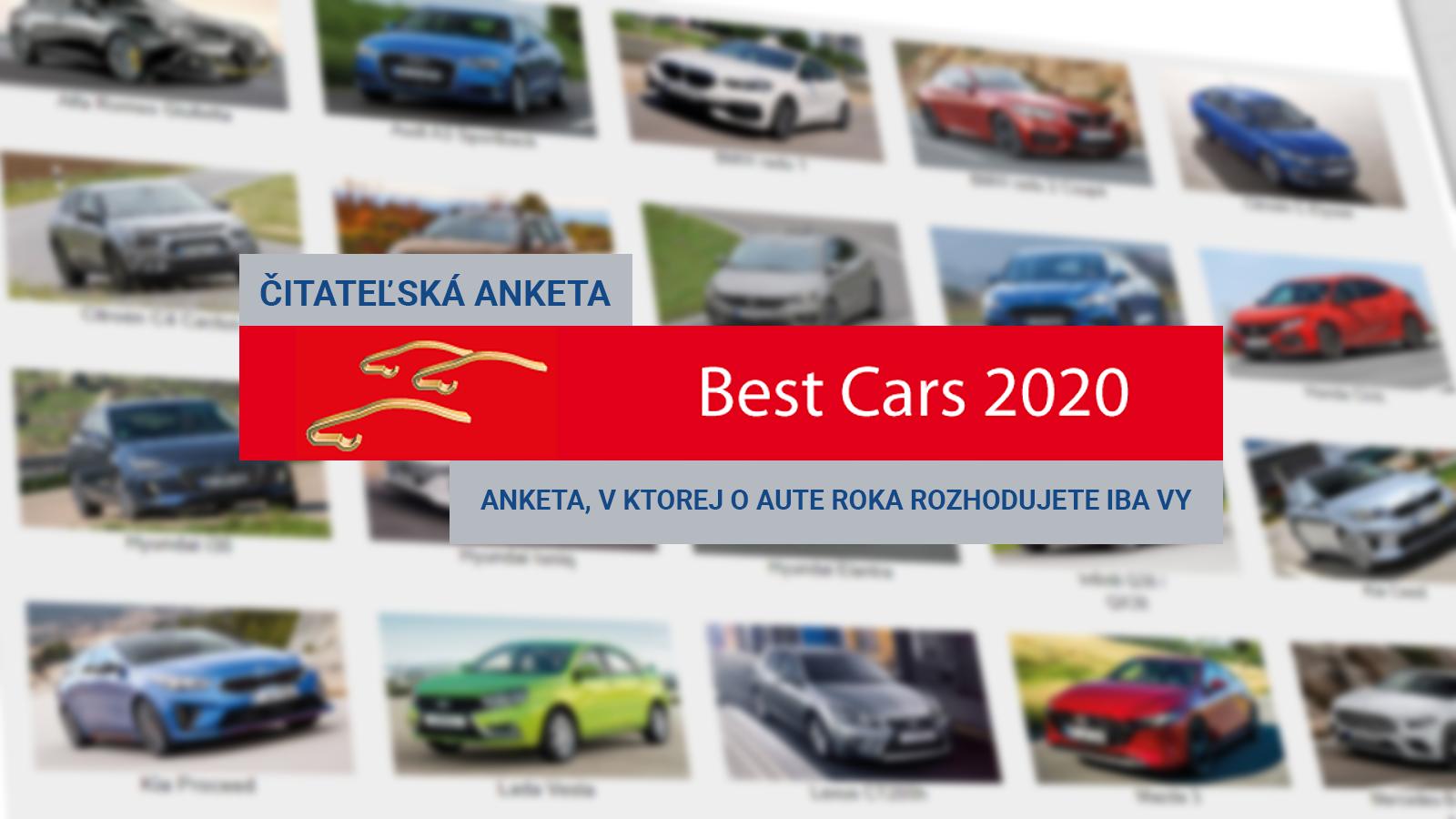 Anketa BEST CARS 2020